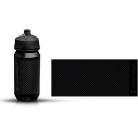 rie:sel design bot:tle Vattenflaska 500ml grå/svart